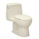 TOTO MS853113E-12 Eco UltraMax Round 1-Piece Floor Mount Toilet (Sedona Beige)
