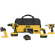Factory Reconditioned Dewalt DCK425CR 18V Compact Cordless 4-Tool Combo Kit