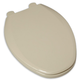 American Standard 5257A.65C.021 Elongated Plastic Closed Front Toilet Seat & Cover (Bone)