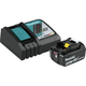 Makita BL1840BDC1 18V 4.0 Ah Compact Lithium-Ion Battery and Charger Starter Pack