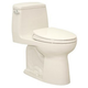 TOTO MS854114SL-12 UltraMax Elongated 1-Piece Floor Mount Toilet - ADA Height (Sedona Beige)