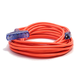 Century Wire D17222025 Pro Glo 15 Amp 12/3 AWG Triple Tap CGM Extension Cord - 25 ft. (Orange)