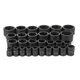 Grey Pneumatic 8029 3/4 in. Dr 6 Pt SAE Master Impact Socket Set, 29 pc