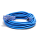 Century Wire D17226100 Pro Glo 15 Amp 12/3 AWG Triple Tap CGM Extension Cord - 100 ft. (Blue)