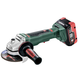 Metabo 613074620 18V 5.5 Ah Cordless LiHD 4-1/2 in. Brushless Angle Grinder Kit