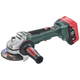 Metabo 613074640 18V 6.2 Ah Cordless LiHD 4-1/2 in. Brushless Angle Grinder Kit