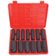 ATD 4401 13-Piece.1/2 in. Metric Deep Socket Impact Wrench Set