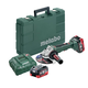 Metabo 613076640 18V 6.2 Ah Cordless LiHD 6 in. Brushless Angle Grinder Kit