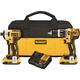 Dewalt DCK287D2 20V MAX XR 2.0 Ah Cordless Lithium-Ion Brushless Hammer Drill & Impact Driver Combo Kit