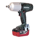 Metabo US602198550 18V 5.5 Ah Cordless LiHD 1/2 in. Square Impact Wrench Kit