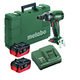 Metabo US602205550 18V 5.5 Ah Cordless LiHD 1/2 in. Square Brushless Impact Wrench Kit