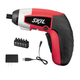 Factory Reconditioned Skil 2354-07-RT 4V Max Cordless Lithium-Ion Palm-Sized Screwdriver and 5-Piece Bit Set