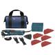 Bosch GOP40-30B Multi-X 3.0 Amp StarlockPlus Oscillating Tool Kit w/Snap-In Blade Attachment