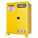 JOBOX 1-850990 12 Gallon Heavy-Duty Safety Cabinet (Yellow)