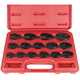 Astro Pneumatic 7115 15-Piece Professional Metric Crwft Wrench Set