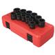 Sunex 2692 12-Piece 1/2 in. Drive Metric Impact Socket Set