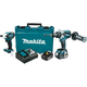 Makita XT252MB LXT 18V 4.0 Ah Cordless Lithium-Ion Brushless Impact Driver and Hammer Drill Driver Combo Kit