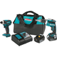 Makita XT256MB LXT 18V 4.0 Ah Cordless Lithium-Ion Brushless Drywall Screwdriver and Impact Driver Combo Kit