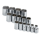 SK Hand Tool 4122 15-Piece 1/2 in. Drive 12-Point SAE Socket Set