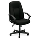 Basyx VL601VA10 VL601 Executive High-Back Swivel & Tilt Office Chair (Black)