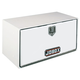 Delta Pro/JOBOX 1-003000 18 in. Long Heavy-Gauge Steel Underbed Truck Box (White)