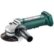 Metabo 613071860 18V Cordless Lithium-Ion 4-1/2 in. Non-Locking Angle Grinder (Bare Tool)