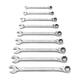 GearWrench 85598 9 pc xl spline combination ratcheting wrench set