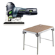 Festool C4500608 Carvex Barrel Grip Jigsaw plus MFT/3 Basic  Multi-Function Work Table