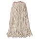 Rubbermaid F21800 12-Piece 24 oz. Premium Eight-Ply Cut-End Cotton Wet Mop Head (White)