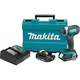 Makita XDT11R LXT 18V 2.0 Ah Cordless Lithium-Ion 1/4 in. Hex Compact Impact Driver Kit