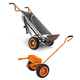 Worx WG050-WA0228-BNDL AeroCart 8-in-1 All-Purpose Yard Cart & Wagon Kit