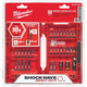 Milwaukee 48-32-4004 32-Piece Shockwave Driver Bit Set