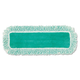 Rubbermaid Q418GN 18 in. Microfiber Dust Pad with Fringe (Green)