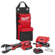 Milwaukee 2678-22BG M18 Force Logic 18V 2.0 Ah Cordless Lithium-Ion 6T Utility Crimper Kit with D3 Groves and Fixed BG Die