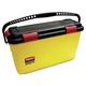 Rubbermaid Q95088YW HYGEN 6.8 Gallon Plastic Charging Bucket (Yellow)