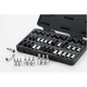 GearWrench 80726 36-Piece 1/4 in., 3/8 in., 1/2 in. Drive Master TORX Set with Hex Bit Sockets