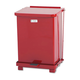 Rubbermaid ST7ERDPL Defenders 7 Gal. Biohazard Step Can (Red)