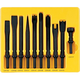 Grey Pneumatic CS110 10-Piece .401 Shank General Service Chisel Set