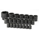 SK Hand Tool 4038 23-Piece 1/2 in. Drive 6-Point Metric Impact Socket Set