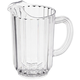 Rubbermaid 3336CLE 32 oz. Bouncer Plastic Pitcher (Clear)