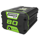 Factory Reconditioned Greenworks 2901302-RC 80V 2.0 Ah Lithium-Ion Battery