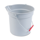 Rubbermaid 296300GY 10 Quart Plastic Utility Pail (Gray)
