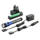 Streamlight 75486 Stinger DS LED HL Rechargeable Flashlight with PiggyBack Charger (Blue)