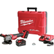 Milwaukee 2783-22 M18 FUEL 18V Cordless 4-1/2 in. - 5 in. Braking Angle Grinder Kit