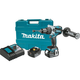 Makita XPH07TB LXT 18V 5.0 Ah Cordless Lithium-Ion Brushless 1/2 in. Hammer Driver Drill Kit