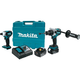 Makita XT252TB LXT 18V 5.0 Ah Cordless Lithium-Ion Brushless Hammer Driver Drill and Impact Driver Combo Kit