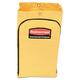 Rubbermaid 6183YEL 21 Gallon Zippered Vinyl Cleaning Cart Bag (Yellow)