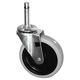 Rubbermaid 3424L6 4 in. Wheel Bayonet Swivel Caster (Black)