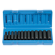 Grey Pneumatic 1213MD 13-Piece 3/8 in. Drive 6-Point Metric Deep Impact Socket Set