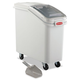 Rubbermaid 360088WHI 20.57 Gal. 13-1/8 in. x 29-1/4 in. x 28 in. ProSave Mobile Ingredient Bin (White)